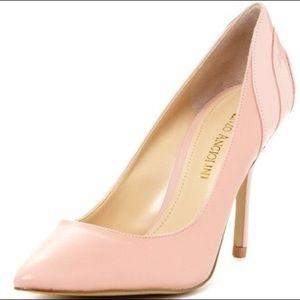 "Enzo Angiolini • Blush Pink ""Pallassino"" Pump Heel"